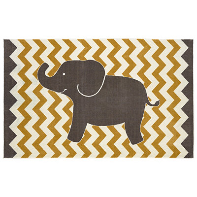 Little Elephant Area Rug, 5x8