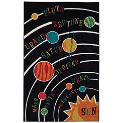 Solar System Area Rug, 5x8