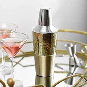 Hammered Gold Cocktail Shaker