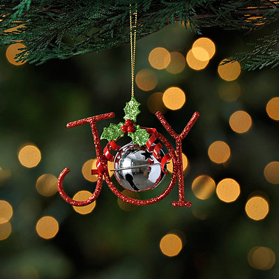 Joy Bell Ornament
