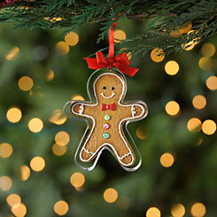 Cookie Cutter Gingerbread Man Ornament
