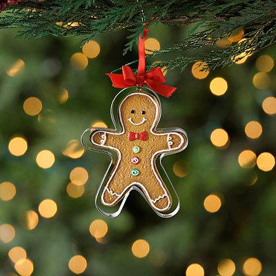 Cookie Cutter Gingerbread Man Ornament