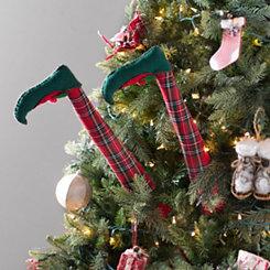 Plaid Elf Leg Picks, Set of 2