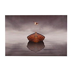In the Fog Canvas Art Print
