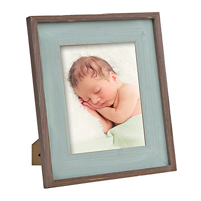 Joanna Blue Barnwood Picture Frame, 8x10