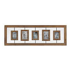 Amber Wire Farmhouse Collage Frame