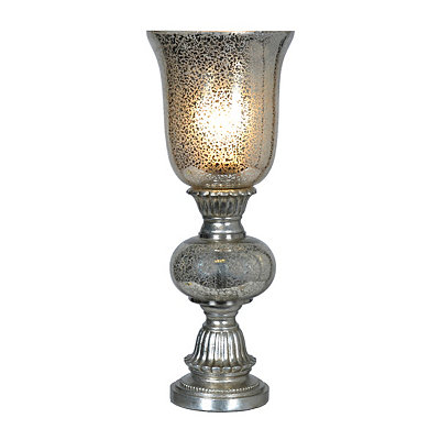 Bennett Silver Mercury Glass Uplight