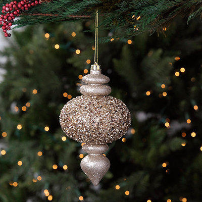 Golden Finial Ornament