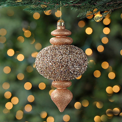 Copper Finial Ornament