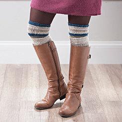 Soft Striped Boot Socks