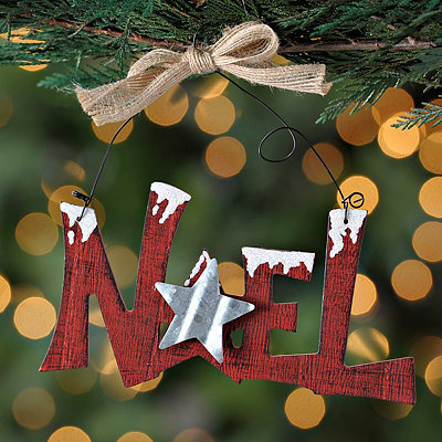 Noel Sign Ornament