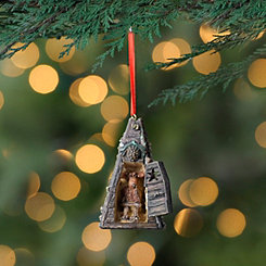 Deer Outhouse Ornament