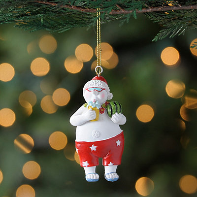 Beach Snowman Ornament