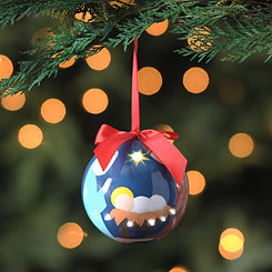LED Nativity Ornament