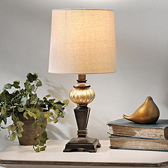 Bronze Metallic Table Lamp Base