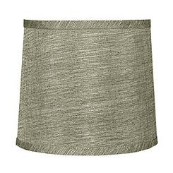 Beige Tweed Hardback Lamp Shade