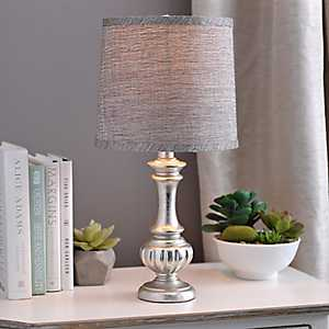Beige Tweed Hardback Lamp Shade