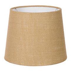 Tan Burlap Hardback Lamp Shade