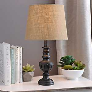 Tan Burlap Hardback Lamp Shade
