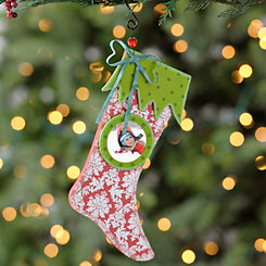 Picture Frame Stocking Ornament