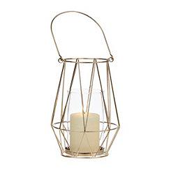 Asele Gold Wire Lantern