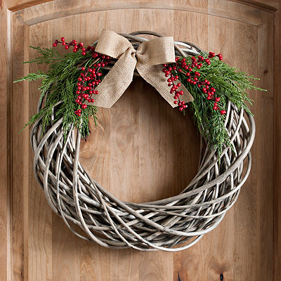 Willow and Cedar Branch Wreath