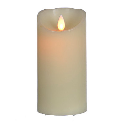 Flickering Flameless LED Candle, 6 in.