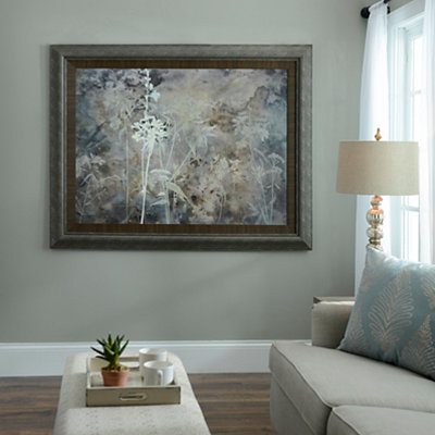Floral Patina Framed Art Print