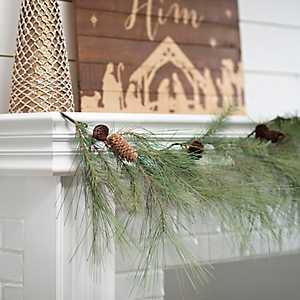 Rustic Pine Garland