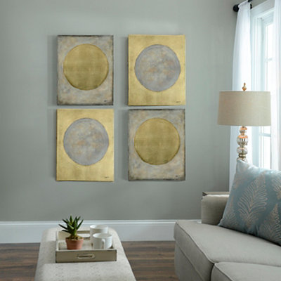 Night and Day Abstract Canvas Art Prints