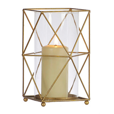 Gold Geometric Metal Hurricane