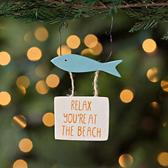 Fish Hanging Sign Ornament