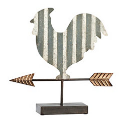 Rooster and Arrow Finial