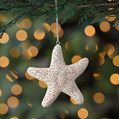 Stone Starfish Ornament