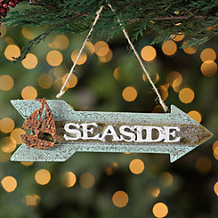 Seaside Arrow Sign Ornament