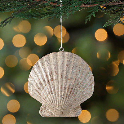 Clam Shell Ornament