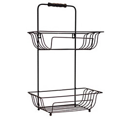 Hanging Metal Bath Basket