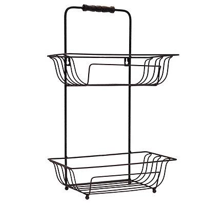 Hanging Metal Bath Basket