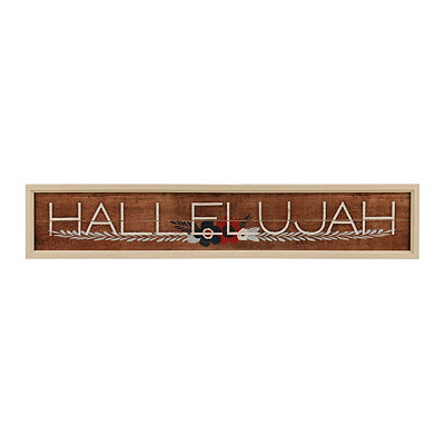 Painted Hallelujah Framed Art Print