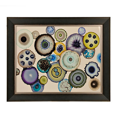 Geodes Framed Art Print