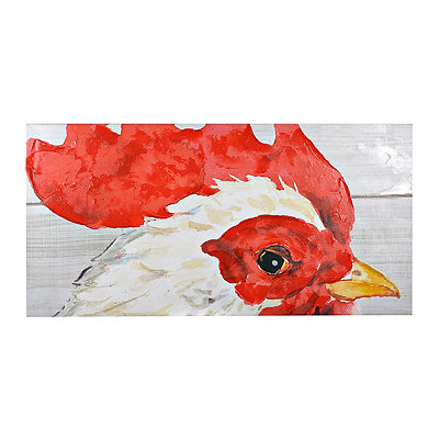 Farmhouse Gaze Canvas Art Print