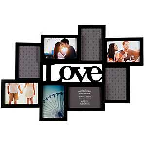 Black Love 8-Opening Collage Frame