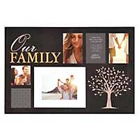 Our Family 6-Opening Collage Frame
