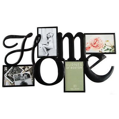 Cutout Home 4-Opening Collage Frame