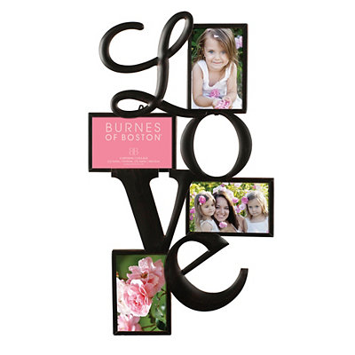 Cutout Love 4-Opening Collage Frame