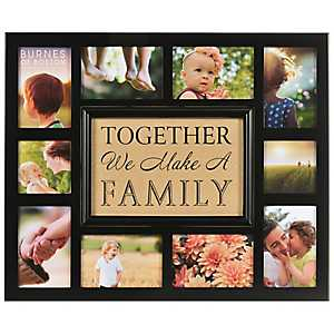 Together We Make a Family Collage Frame