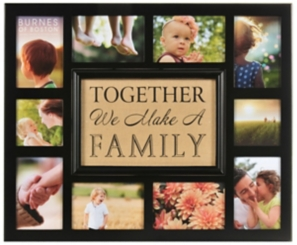 Together We Make a Family Collage Frame
