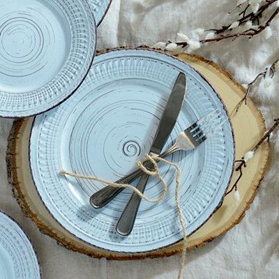Cosenza Aqua Dinner Plate