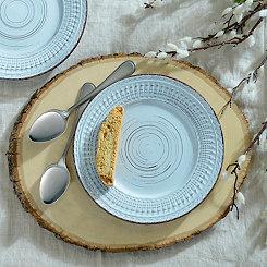 Cosenza Aqua Salad Plate