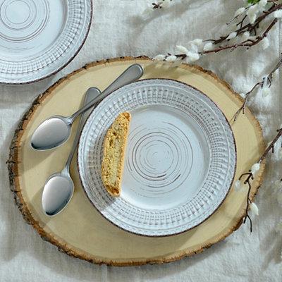 Cosenza Cream Salad Plate